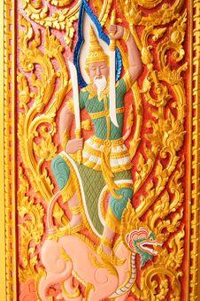 Free Thai Temple S Window Royalty Free Stock Image - 15423036