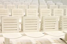 Free White Chairs Stock Photography - 15423282