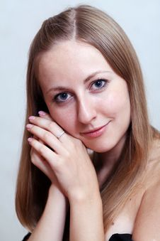 Free Portrait Of Beautiful Woman Stock Photos - 15423613
