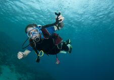 Free Male Scuba Diver Stock Photos - 15424283
