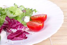 Free Salad On Plate Royalty Free Stock Image - 15424626