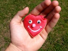 Free Heart In Hand Royalty Free Stock Photo - 15424895