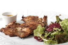 Free Fried Chicken Stock Images - 15424904