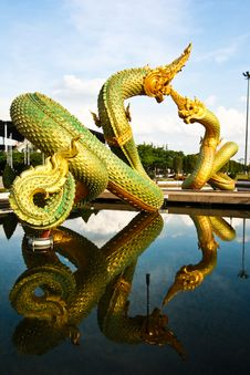 Free Double Nagas Stock Photography - 15426142