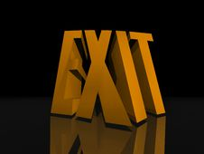 Free Exit Sign Stock Photos - 15426263