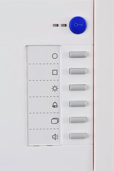 Free Detail Of Modern Doorbell Royalty Free Stock Images - 15427149