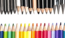 Free Brightly Colored Pencils Royalty Free Stock Images - 15427949