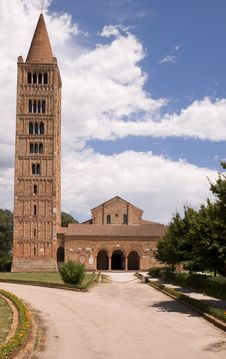 Free Pomposa Abbey Stock Images - 15428054