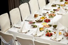 Free Banquet Table Stock Images - 15428614