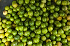 Free Limes Sell At Market Royalty Free Stock Photos - 15428808