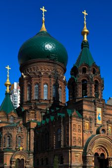 Free Holy Sophia Cathedral Stock Photo - 15429180