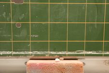 Free School Board With Chalk Stock Photo - 15429220