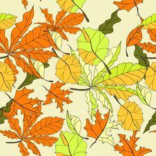 Free Autumn Seamless Wallpaper Stock Images - 15429734