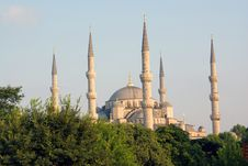 Free Sultan Ahmed Mosque Stock Photography - 15429792