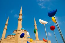 Free Al Amine Mosque Royalty Free Stock Image - 15429916