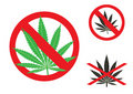 Free The Hemp Is Forbidden Royalty Free Stock Photos - 15431258