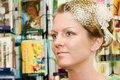 Free Profile Pretty Bride Before Wedding Stock Photo - 15432410