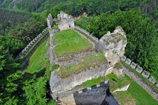 Free Medieval Castle Ruins Stock Photos - 15430023