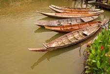 Free Thailand Boat. Stock Photo - 15430120