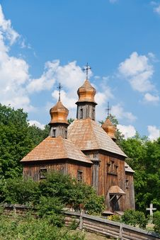 Free Old Wooden Church Royalty Free Stock Photos - 15430148