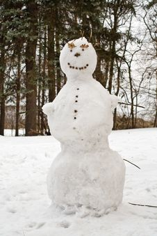 Free Snowman Royalty Free Stock Photography - 15430177