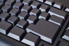 Free Blank Black Keyboard Stock Images - 15430434