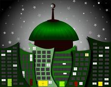 Free Mosque City Stock Photo - 15430500