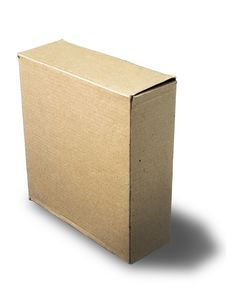 Free Close Brown Paper Box Stock Photography - 15430692