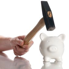 Free Piggy Bank Royalty Free Stock Photo - 15430725