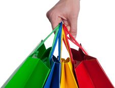 Free Shopping Bag Royalty Free Stock Images - 15430919