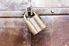 Free Rusty Door Stock Image - 15430971