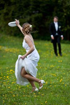 Free Young Wedding Couple Stock Image - 15431341