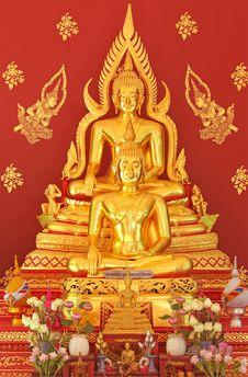 Free Golden Buddha Royalty Free Stock Images - 15431799