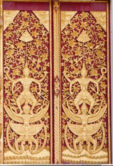 Free Temple Door Art Stock Photography - 15432172