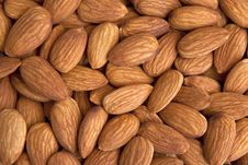 Free Almonds Background Royalty Free Stock Image - 15433216