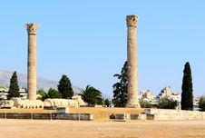Free Temple Of Zeus Royalty Free Stock Photos - 15433258