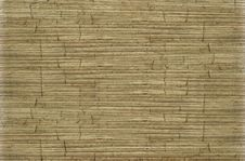 Free Old Ribbed Cracked Coconut Paper Background Stock Photography - 15433272