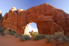 Free Rock Arch Royalty Free Stock Image - 15434346