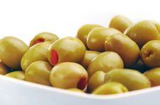 Free Green Olives Royalty Free Stock Photography - 15434357