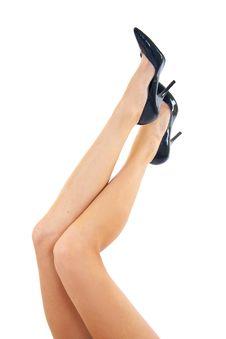 Free Long Woman Legs Stock Photo - 15434470