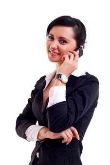 Free Business Woman On The Phone Stock Images - 15434484