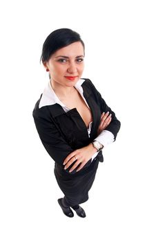 Free Business Woman Looking At The Camera Stock Photo - 15434520