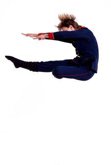 Free Ballet Man Jumping Stock Photo - 15434530