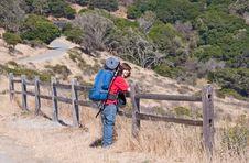 Teen Backpacking Stock Photography