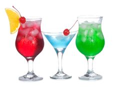 Free Cocktails With Fruits Royalty Free Stock Images - 15435479