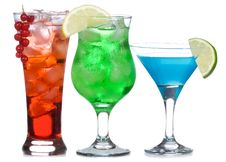 Free Alcohol Cocktails Stock Photos - 15435543