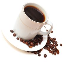 Free Cup Of Coffee Royalty Free Stock Photo - 15435685