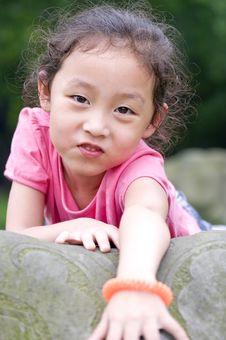 Free Happy Little Girl Stock Image - 15435811