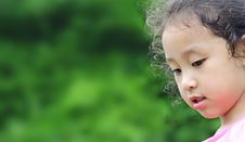 Free Cute Little Girl Royalty Free Stock Photos - 15435858