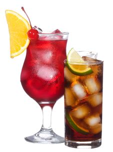 Free Cocktails With Fruits Royalty Free Stock Images - 15435869